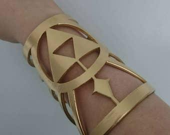 Zelda Breath of the Wild BOTW Inspired Princess Zelda Arm Cuffs Accessories (Pair)