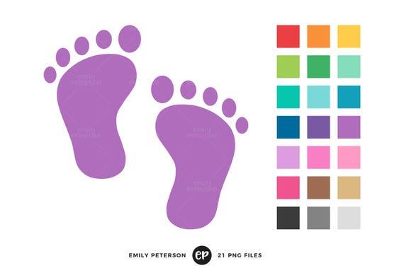 baby footprint clip art baby shower clipart nursery clip art rh etsystudio com nursing clip art free nursing clipart