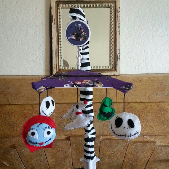 Nightmare Before Christmas Crib Mobile by BedBugsCreations
