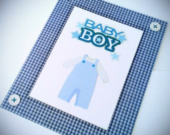 Handmade cards for newborn boy, handmade cards for baby boy,  handmade congratulations baby boy, Handmade cards,