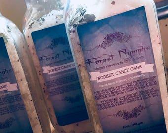 Forest Candy Cane Bath Salts