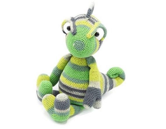 Crochet Pattern Chameleon Chris