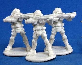 Nova Corp Guards (3) - 80011 - Reaper Miniatures