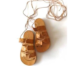 Baby gladiator sandals, baby girl sandals, leather sandals, baby shoes, greek leather sandals, infant gladiator sandals, barefoot sandals