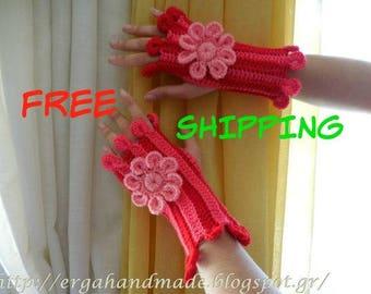 FREE SHIPPING!!! Crochet Gloves