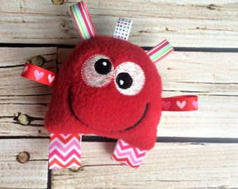 Monster Toy - Baby Monster - Soft Baby Toy - Toy Monsters Baby Rattle - Monster Plush Toy - Monster Stuffed Toy