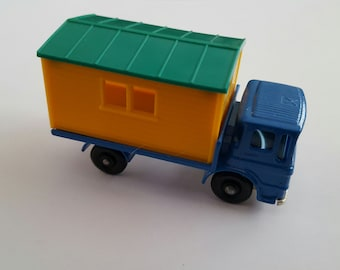 Vintage Matchbox Series No 60 b1 Site Hut Truck, Ford, Made in England by Lesney Condition 9.5
