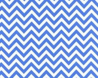 Robert Kaufman Chevron Blue by Ann Kelle from Remix