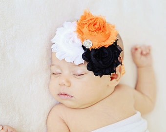 Halloween Headband..Newborn Headband..Baby Girl Headband..Headband..Infant Headband..Baby Headband..Halloween Headbands