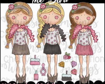 The Diva Clipart Collection- Immediate Download