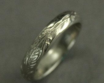 Elven Ring Leaf Band Fantasy Ring Elven Jewelry Elf Ring Elvish Ring Gold Elven Ring Men's Wedding Ring Women's Band Nature Lover Ring