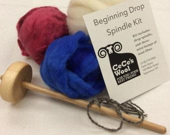 Beginning Drop Spindle Kit