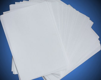 Wafer Paper Sheets, Premium Edible Paper for Cake Decorating, plain, size A4