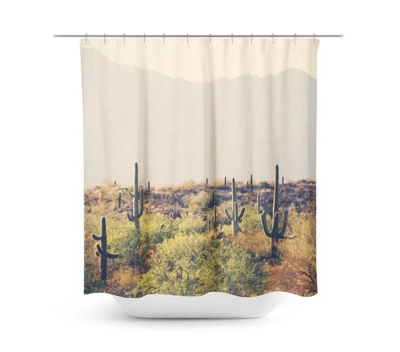 Cactus douche rideau desert home decor salle de bains for Decor traduction