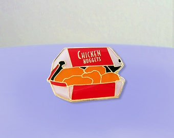 Chicken Nuggets Enamel Pin
