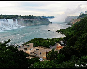 Niagara Falls Photography, Travel Photography, Horseshoe Falls, America Falls, Vintage Photos, Landscape Photography, Free Shipping