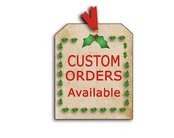 CUSTOM ORDERS AVAILABLE, custom Tea Tags, custom thank you tags, custom tea party, Custom Christmas gift tags, custom invitations, digital