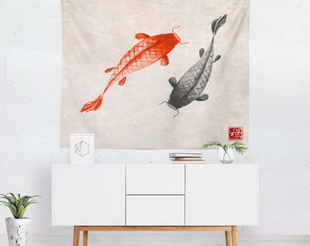 Charming Japanese Tapestry | Japanese Wall Tapestry | Japanese Wall Décor | Japanese  Tapestries | Japanese Wall