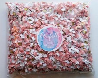 Pink and Gold Confetti - Princess Confetti - Gold Confetti - Unicorn Confetti - Princess Party Decor - First Birthday Confetti