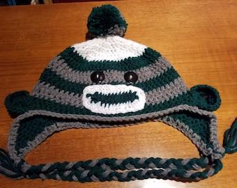 Custom Sock Monkey Hat