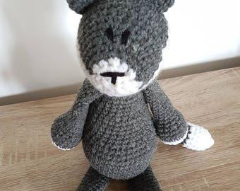 Plush Wolf crochet