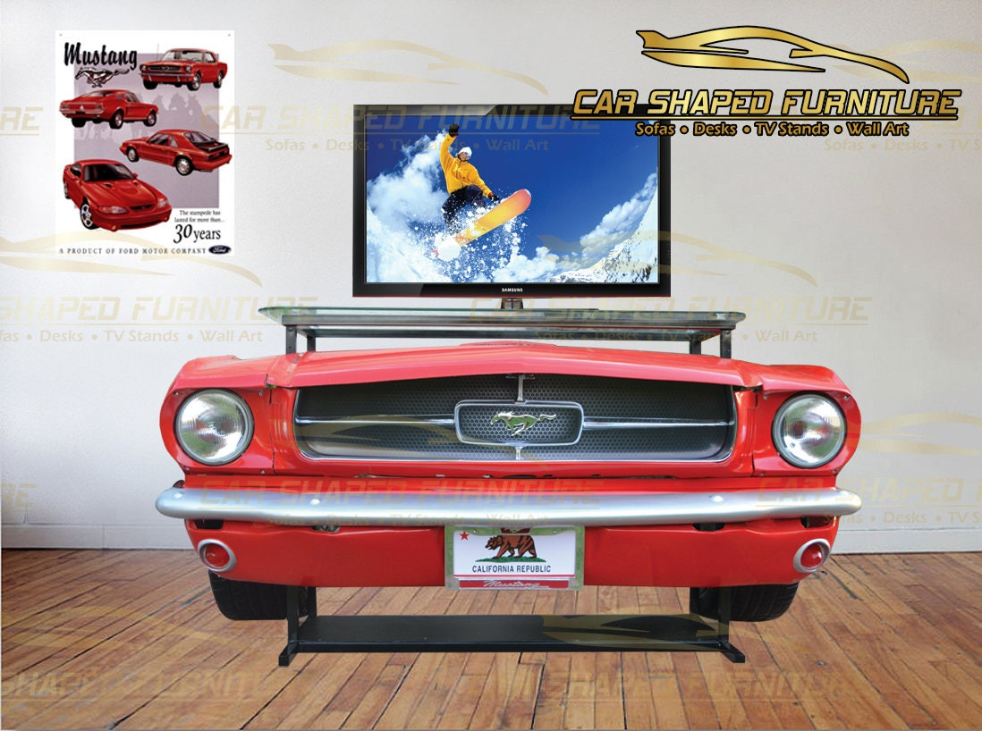 65 Classic Mustang Front End Tv Stand Bar Console Table # Meuble Tv California