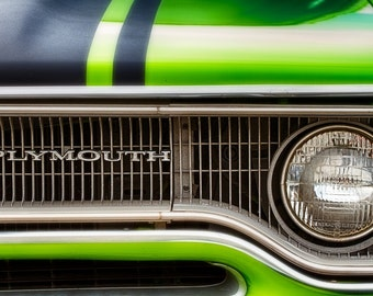 Classic Plymouth - Classic Car Photography - Vintage Auto