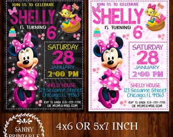 Minnie Mouse Bow-tique Invitation, Minnie Mouse Bow-tique, Minnie Mouse Birthday, Minnie Mouse Bowtique Party, Minnie Mouse Birthday Party
