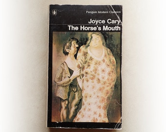 Joyce Cary - The Horse's Mouth - Penguin vintage paperback book - 1967