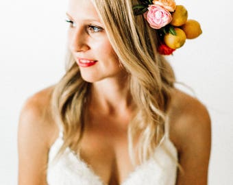 Colorful Fruit Flower Crown