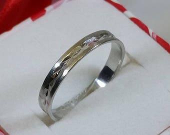 19 mm ring Silver 925 simple design rar SR574