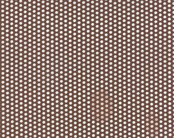 Into the Woods brown dot by Lella Boutique for Moda Fabrics