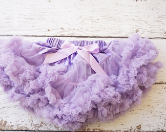 baby pettiskirt, lavender tutu, baby tutu, girl tutu, purple tutu, purple pettiskirt for girls, purple skirt, fluffy skirt, petti coat