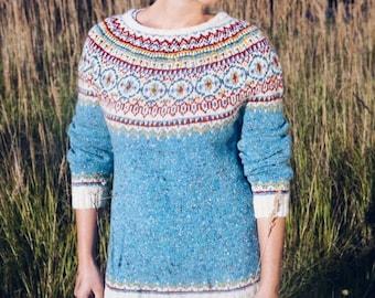 "A hand-made Sweater ""Turca"""