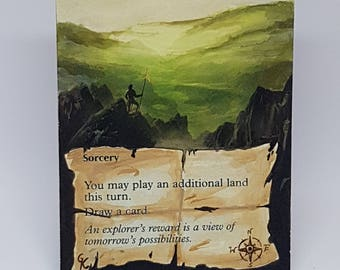 Magic the Gathering Explore alter