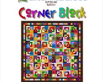 CORNER BLOCK - Quilt-Addicts Patchwork Quilt Pattern