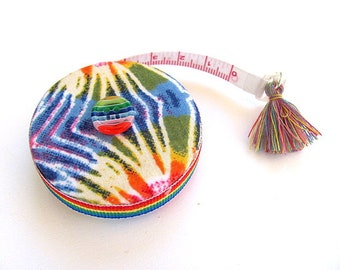 Measuring Tape Tie Dye Retractable Tape Measure