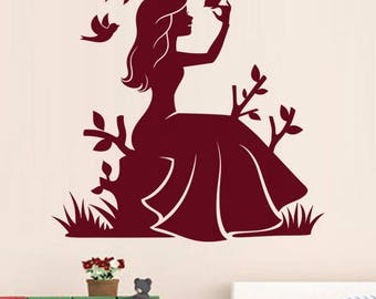 "Sticker ""Princess in nature"""