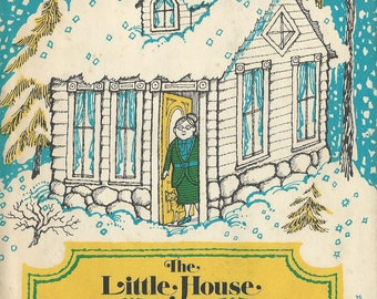 LITTLE HOUSE, A New Math Story-Game, math for pre-schoolers by Jane Thayer, 1972, 1st Edition