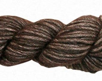 Amano Puyu Yarn - Baby Alpaca\Mulberry Silk Blend - Bulky - Chestnut\Beautiful Alpaca Silk Yarn Blend