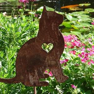 cat garden decor. Pet Cat Memorial GARDEN STAKE Yard Lawn Kitty Feline Garden Decor