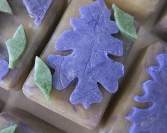 Lilac Applique  Shea Butter Goatmilk Soap