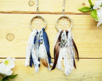 Dream Catcher Keychain for Purse: Boho Keychain, Boho Planner Accessories, Key Chains for Women, Boho Purse Charm Stocking Stuffer for Women