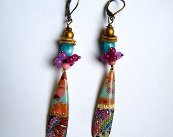 BOHEMIAN EARRINGS - mother's day gift