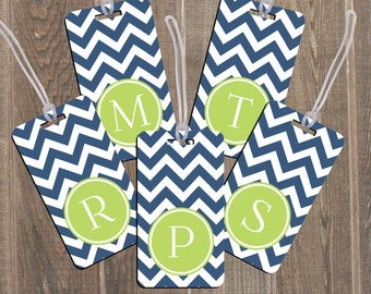 Luggage Tag Set Family 5 Pack Bag Personalized Custom Monogram Travel Accessories Baggage Backpack Bridesmaid Gift Bridal Party Bridesmaides
