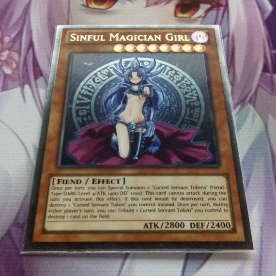 Sinful magician girl ultra rare orica proxy fanmade yugioh for Proxe vigila 3 manuale