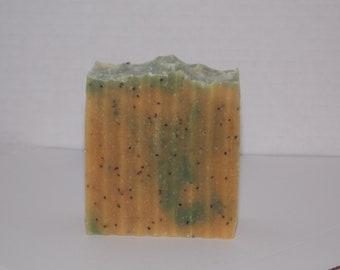 Citrus tea goat milk soap