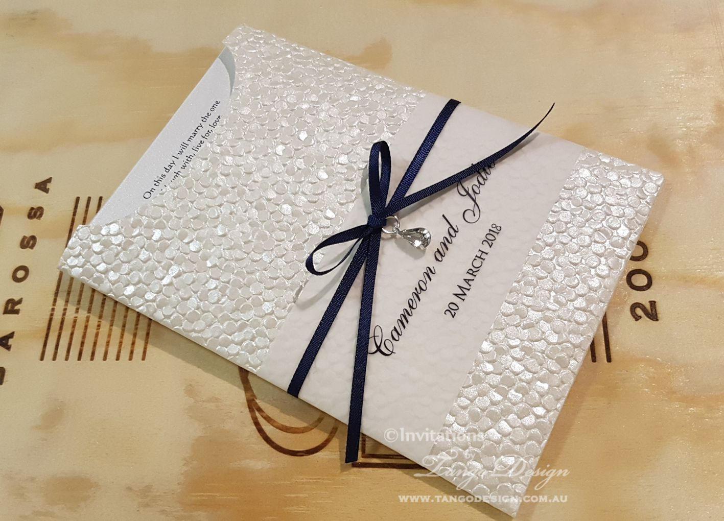 Modern Wedding Invites Uk: Modern Wedding Invitation Suite & Rsvp Card. Pebble Wedding