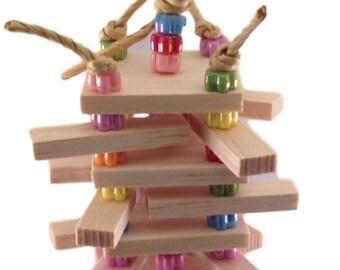 Balsa Sticky Stacker - Bird Toy