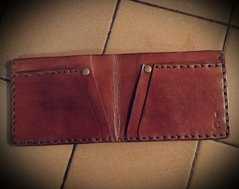 Bifold Wallet Hand Tooled